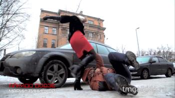 айкидо школа Тиницкая Мария додзе Москва угон автомобиля на улице