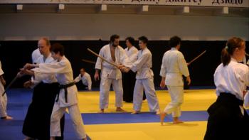 айкидо школа семинар боккен