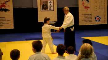 айкидо школа семинар Луи Ван Тигем для детей
