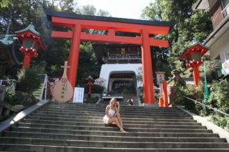 синтоистский храм Тиницкая Мария Япония