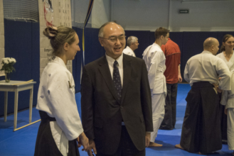 айкидо школа консул Японии