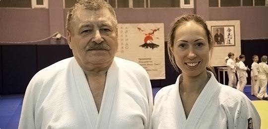 айкидо школа Тиницкая Мария Пастухов Александр
