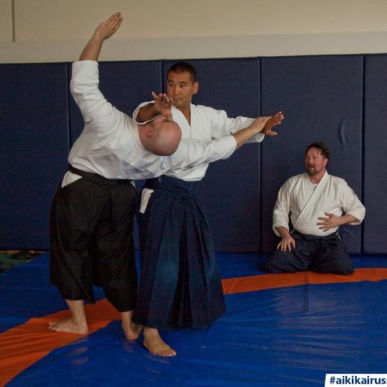 айкидо айкикай семинар Макото Ито школа Марии Тиницкой Япония