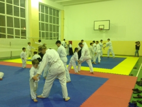 айкидо айкикай Муцуко Минегиши тренировка семинар школа Марии Тиницкой