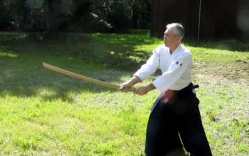 занятия айкидо с оружием