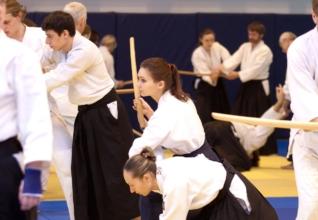 айкидо айкикай занятие с оружием боккен Школа Марии Тиницкой