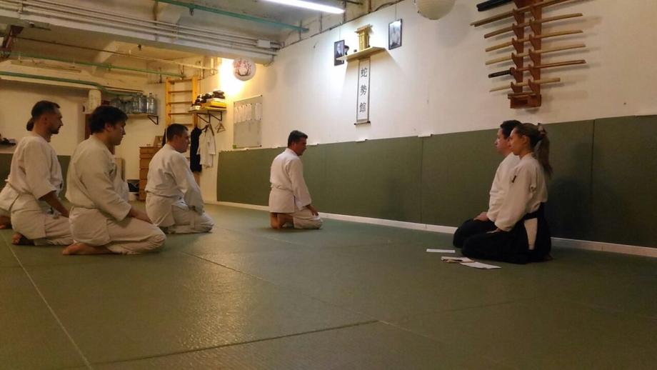школа айкидо айкикай Марии Тиницкой экзамен на степени кю